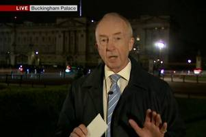 what happened to nicholas witchell? bbc news editor explains after royal correspondent's on-air mistake