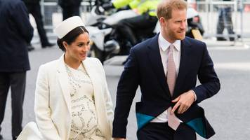 royal baby: meghan and harry's 'break with tradition' praised by us media