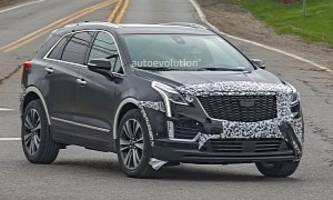2020 cadillac xt5 spied with very subtle refresh