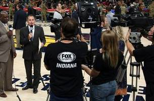 fox sports indiana receives all-time best nine emmy nominations for pacers telecasts