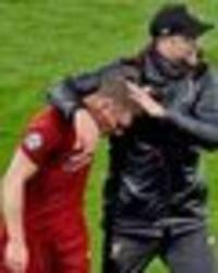 what jurgen klopp did with james milner reduced to tears after liverpool beat barcelona