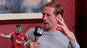 that peter crouch podcast:: striker reveals demands expected at liverpool training