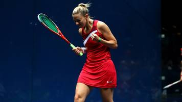 laura massaro: former world champion to retire from squash