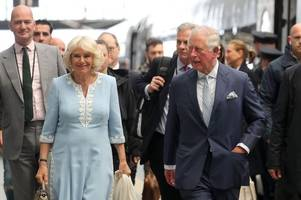 prince charles and camilla given teddy bear for prince harry and meghan markle's son