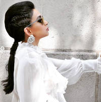sheetal mafatlal's funky braids are a hit this summer. see photos