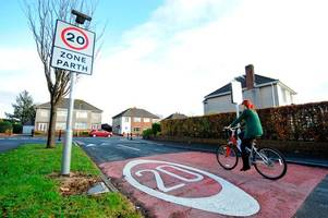 20mph speed limits wanted in all residential welsh streets