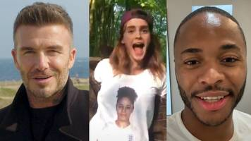 women's world cup 2019: england squad announced by celebrity videos