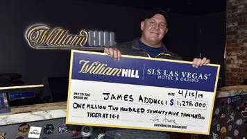 man who won $1.2 million on tiger's masters win just bet $100k on him to win grand slam