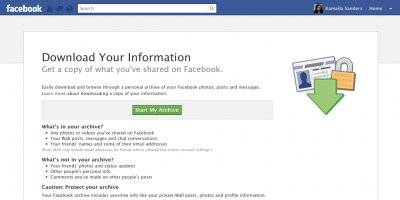 want to get rid of facebook for good? here's how to do it. (fb)