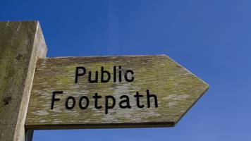 national trail footpath signs stolen from norfolk coast