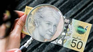 Australia's A$50 note misspells responsibility