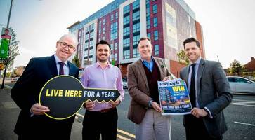 Your chance to win with the Belfast Telegraph: live rent-free for one year in a luxury Portland 88 'Smart' Apartment on Belfast's Ormeau Road!