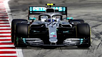 spanish gp: valtteri bottas fastest as mercedes dominate second practice