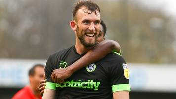forest green: christian doidge glad to be out of bolton after deal collapse