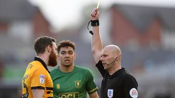 Newport County: Boss Michael Flynn insists the pressure is on Mansfield