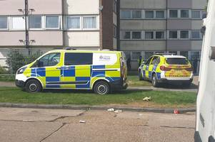 live: southend flats on 'lockdown' as police and armed response attend incident