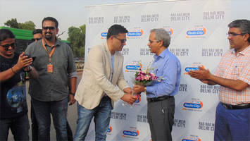 radio city culminated 'matkar' campaign with a motorcycle rally in delhi