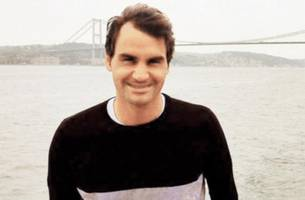 my kids keep me young: roger federer