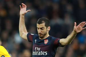 arsenal star henrikh mkhitaryan could miss europa league final because of political tensions