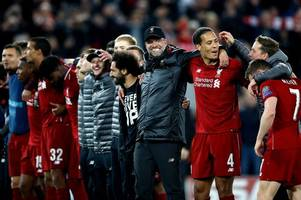 liverpool injury latest as jurgen klopp delivers updates on mo salah and andy robertson