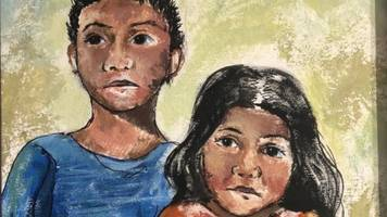 painting of migrant children will hang in us capitol