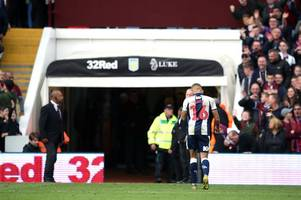 'Hello Dwight Gayle, my name is karma' - Nottingham Forest fans revel in West Brom striker's red card in play-offs defeat to Aston Villa