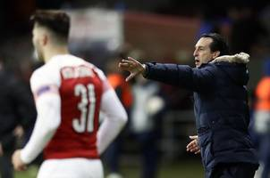 Unai Emery gives his Arsenal players the day off after reaching Europa League final against Chelsea