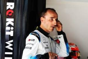 Report: Latifi could replace Kubica at Williams