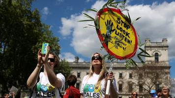 Mothers demand climate action in London march