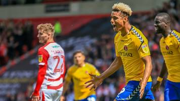 Doncaster Rovers 1-2 Charlton Athletic: Lyle Taylor helps Addicks to first leg win