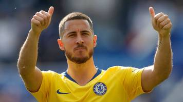 Eden Hazard: Chelsea must respect forward's decision on his future - Maurizio Sarri