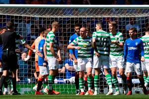 what the rangers bench shouted after jon flanagan's forearm smash on scott brown