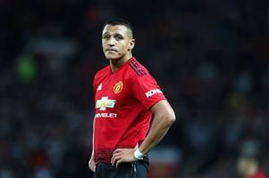 alexis sanchez apologises for man united form - gooners will feel they've heard it all before