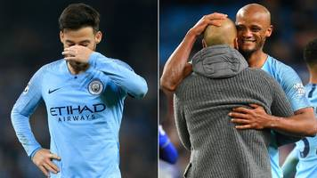 from the chief exec's pep talk to silva surprise – unseen moments that defined man city's season