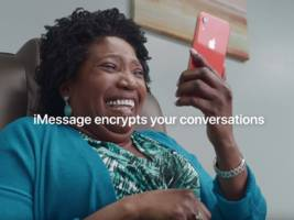 apple's latest ad emphasizes how the iphone keeps your text conversations private, subtly digging at companies like facebook and google (aapl)