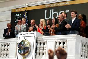 uber is tanking after logging the biggest first-day dollar loss in us ipo history (uber)