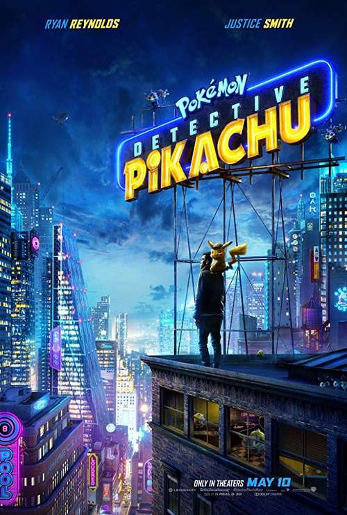 MOVIE REVIEW: Pokemon Detective Pikachu