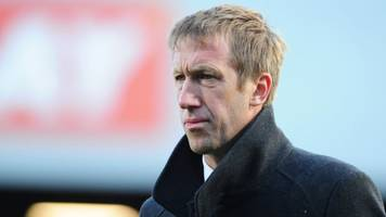 graham potter: swansea boss brighton's target to replace chris hughton