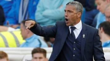 chris hughton sacked - watch his last match of the day interview as brighton boss