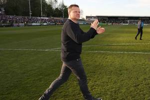 I don't think they really wanted us to be in the final - every word of Forest Green Rovers manager Mark Cooper's interview after the play-off semi-final second leg draw with Tranmere Rovers, ending their Wembley hopes