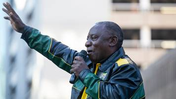 south africa election: cyril ramaphosa vows to tackle anc corruption