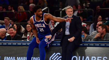 joel embiid calls rumors about 76ers potentially firing coach brett brown 'bulls---'