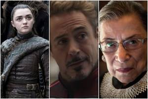 'game of thrones,' 'avengers: endgame,' 'rbg' lead 2019 mtv movie and tv awards nominations