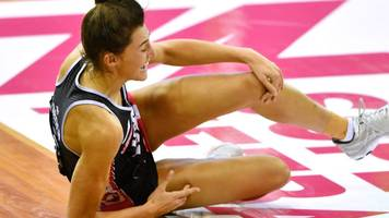 Netball World Cup: England's Beth Cobden to miss tournament with knee injury