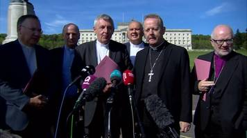 stormont talks: church leaders urge 'courageous leadership'