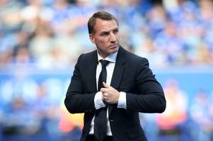 brendan rodgers reacts as lee congerton leaves celtic to become leicester city's head of recruitment