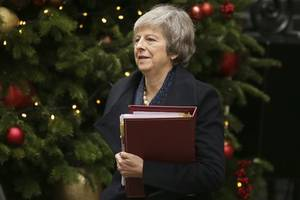 British PM May, ministers agree must ratify Brexit deal by summer break