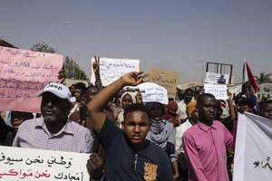 sudanese union says 6 killed in clashes with security forces