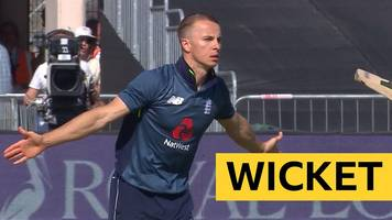 England v Pakistan: Tom Curran removes Imam-ul-Haq for 151