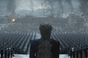 'game of thrones' series finale photos show the aftermath of daenerys' 'mad queen' rampage